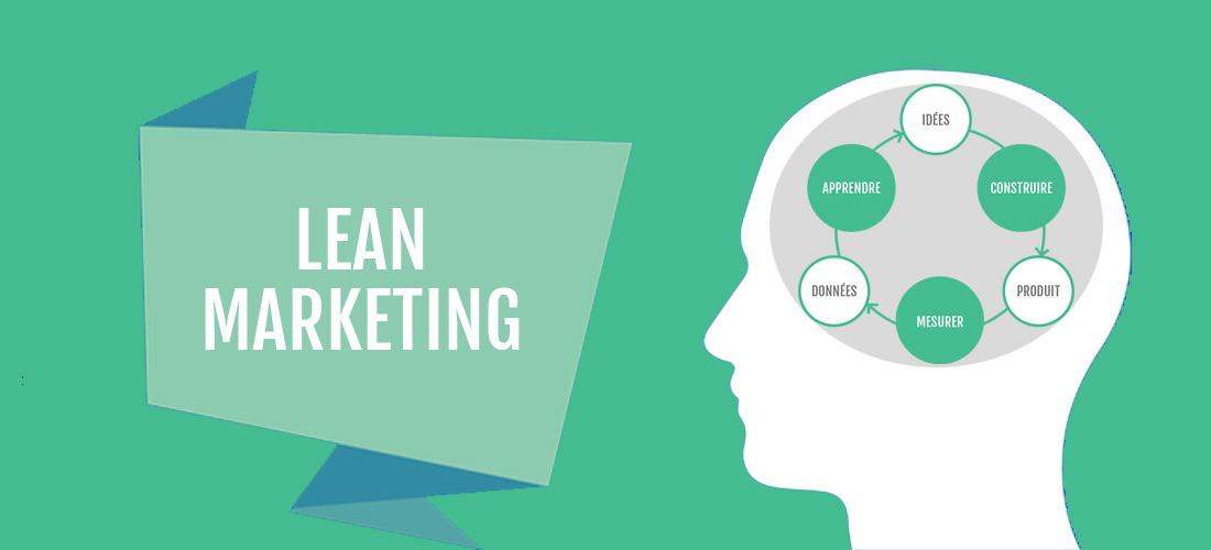 Lean marketing illustration